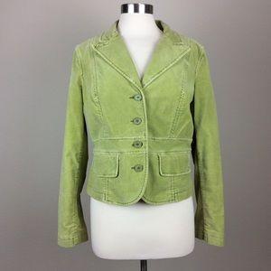 Tommy Hilfiger Distressed velvet jacket